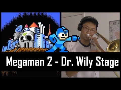 Mega Man 2 (Wily's Stage 1) - Trombone Cover