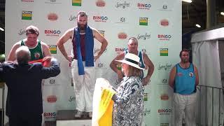 300mm Standing Block Handicap Restricted Event  200419