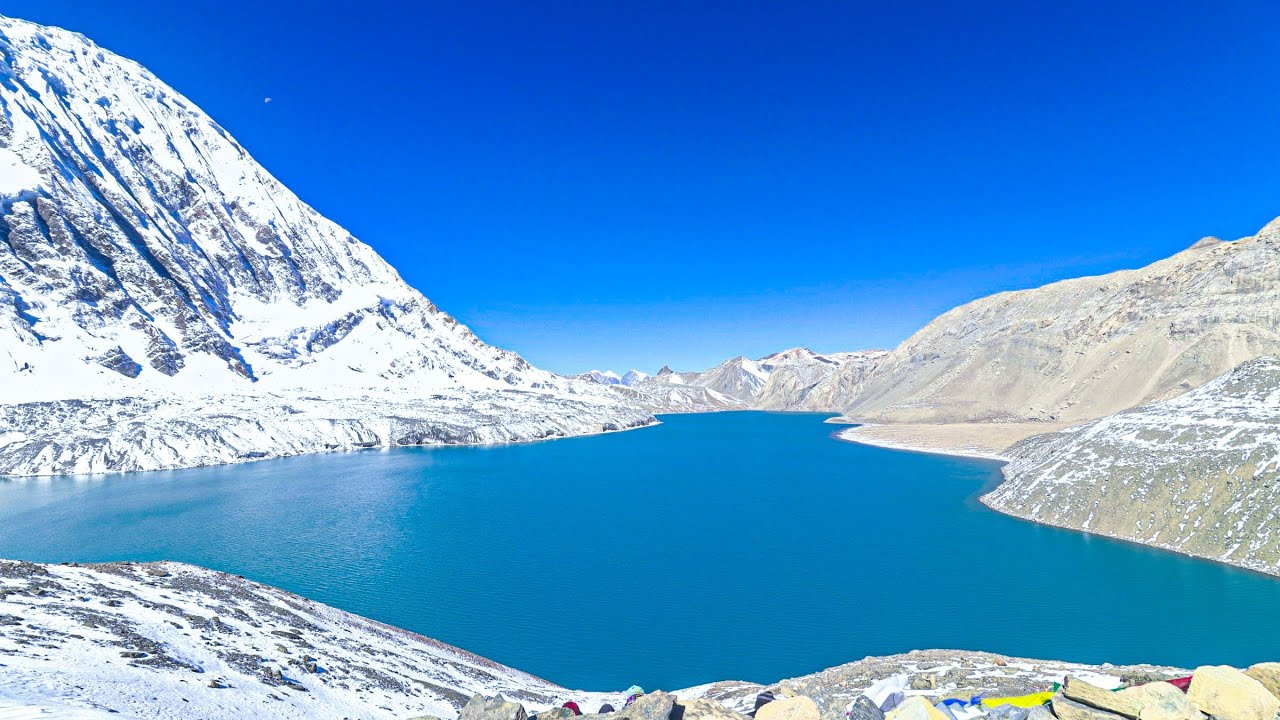 Download TILICHO TREK || Journey from Chame to Tilicho Lake || MANANG || NEPAL || Vertical Video