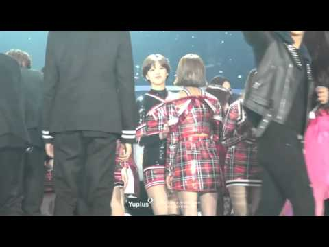 JIYEON AND IU SBS GAYODAEJEON ENDING