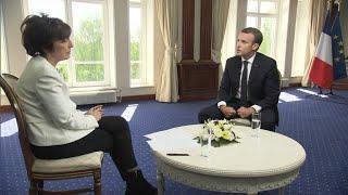 Retrouvez l'intégralité de l'interview d'Emmanuel Macron