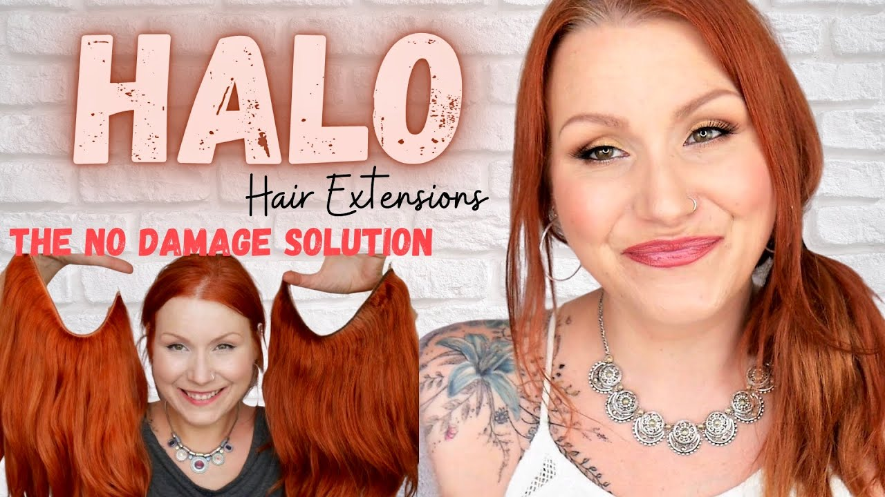 Halo hair extension tutorial for thin hair youtube halo hair extension tutorial for thin hair baditri Image collections