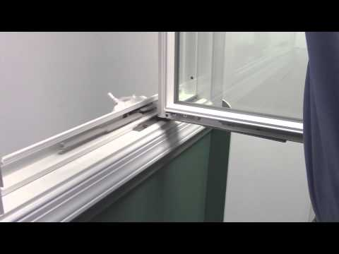 How to Remove and Install a Casement Window Sash