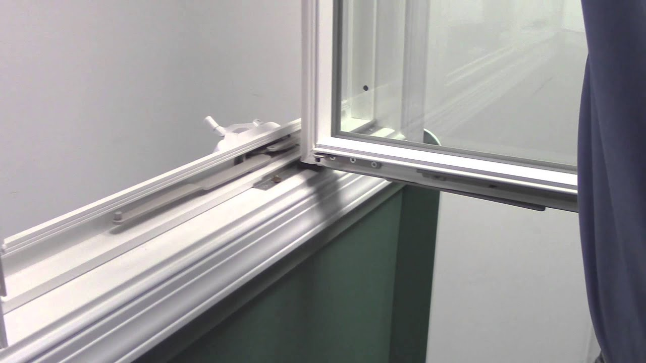 How to remove and install a casement window sash youtube for Installing casement windows