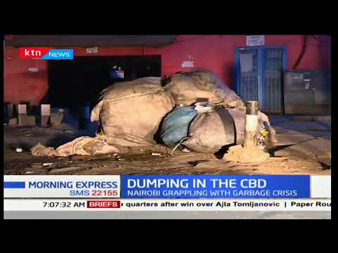 Dumping cartels dump garbage in the CBD