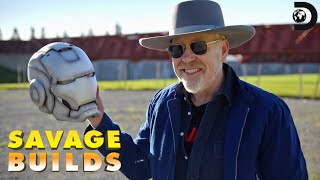 Adam Savage has recreated an Iron Man suit and now it's time to tes...