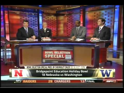Washington vs. Nebraska Holiday Bowl 2010
