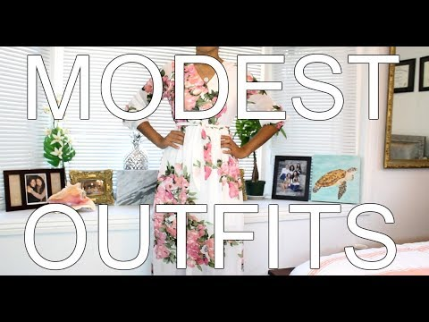 MODEST OUTFITS | Spring/ Summer Lookbook 5