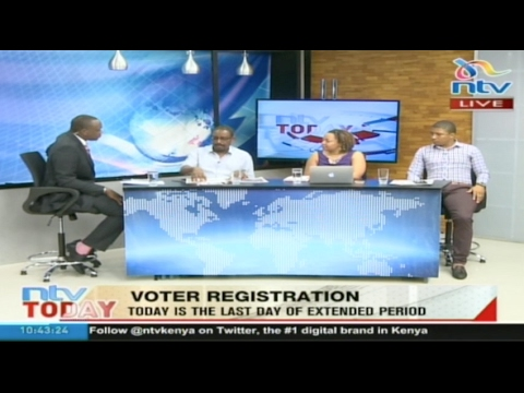Voter registration: IEBC's race against time to prepare for polls