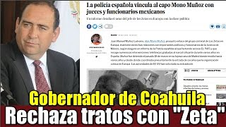 Rubén Moreira rechaza  tratos con
