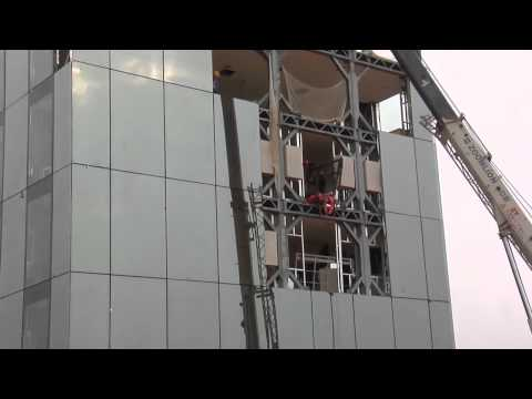 BSB Broad Sustainable Building 远大可建 Dormitory construction 5 days