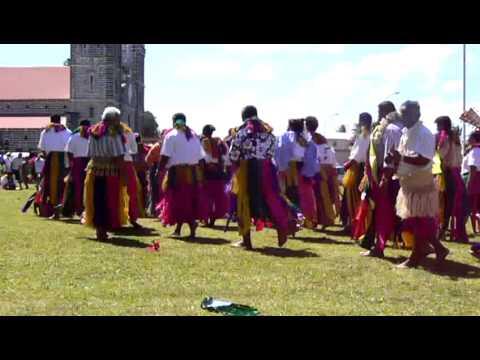 Mata'utu - tanečníci 2 - oslavy Dne teritoria | Wallisian Dancers - The Terriotry Day