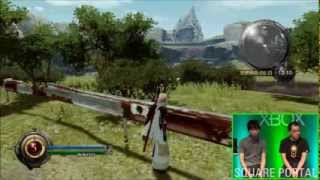 Lightning Returns: Final Fantasy XIII Wildlands Demo Gameplay