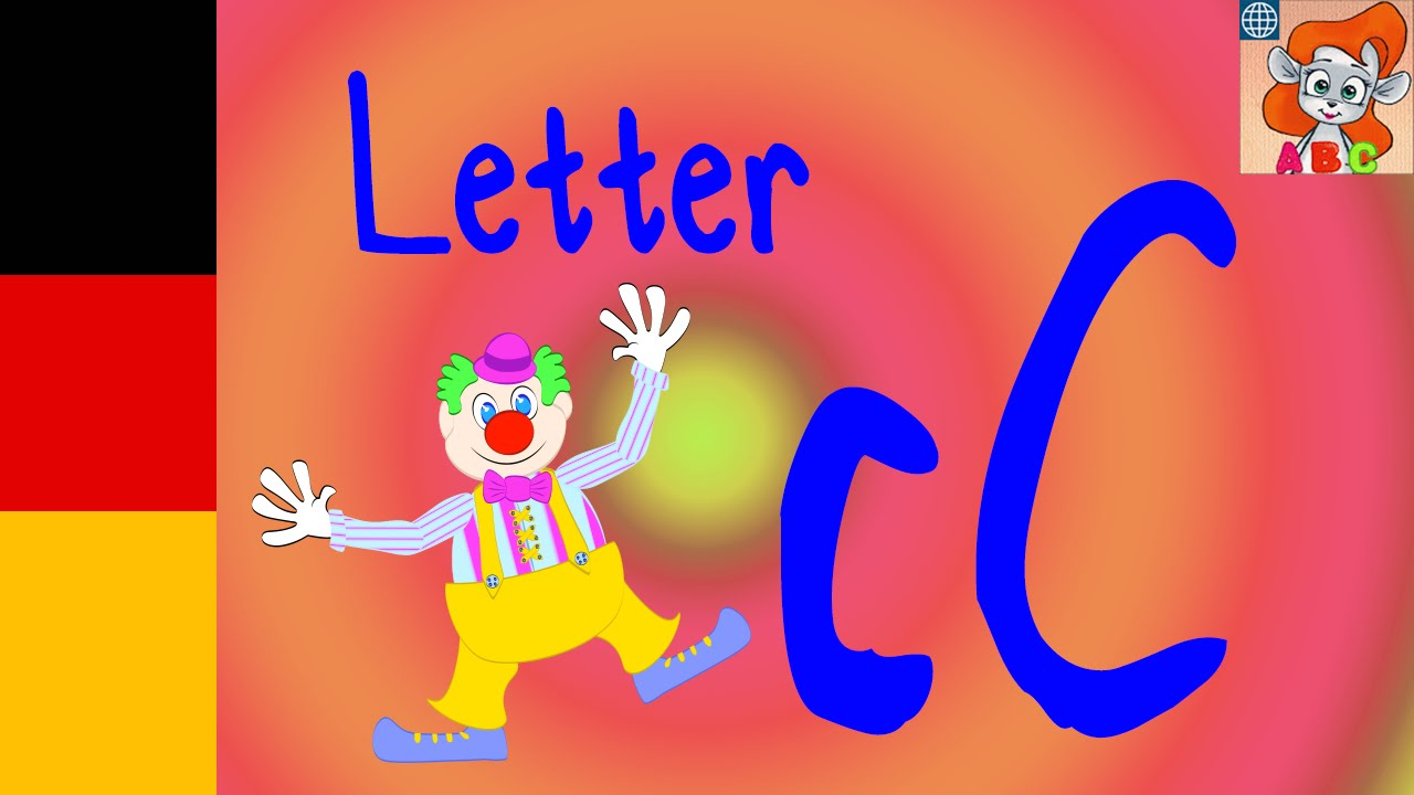 C SONG - Learn the german Alphabeth - Nursery rhymes with lyrics!