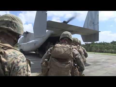 U S  Marines train at the Jungle Warfare Training Camp Gonsalves Japan