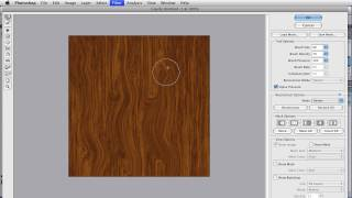 Wood Grain In An Action - Photoshop Tutorial