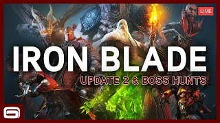HUNTING DEMON LORDS! Iron Blade – Update 2 Livestream