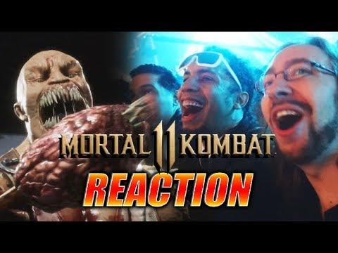 DOODS REACT: Mortal  Kombat XI Gameplay Reveal LIVE! thumbnail