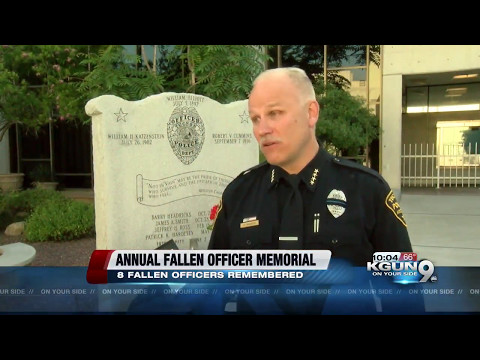 Tucson Police honors fallen officers