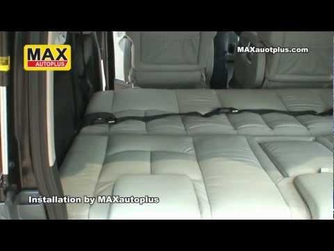 ตกแต่งรถตู้ Toyota Ventury เบาะปรับเป็นเตียง