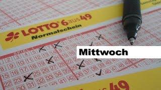Lotto - Ziehung der Lottozahlen, Mittwoch 27.09.2017