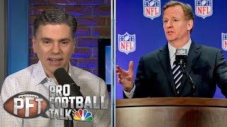 Roger Goodell remains mum on CBA negotiations   Pro Football Talk   NBC Sports