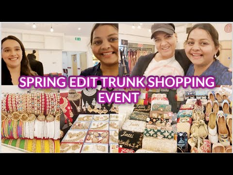 SPRING EDIT TRUNK SHOPPING EVENT| HOMEMADE SKINCARE PRODUCTS | DESIGNER JEWELLERY| DESIGNER CLOTHING