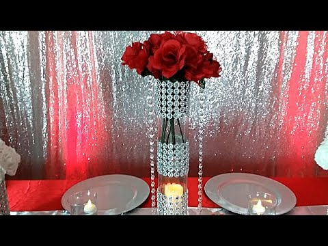 diy-red-white-and-silver-bling-table-setting,-diy-dollar-tree-table-setting