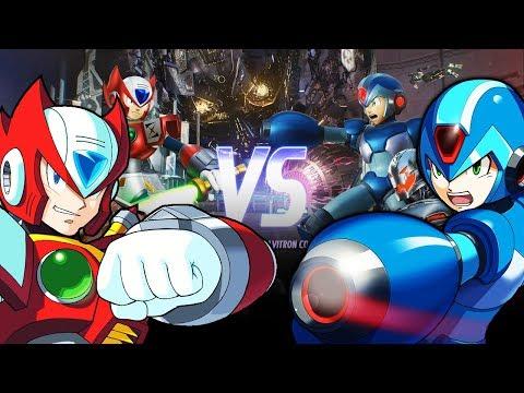 PART 1: MEGAMAN X VS ZERO SHOWDOWN!  - MARVEL VS CAPCOM INFINITE FULL MATCHES