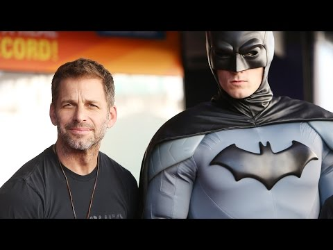 Zack Snyder Talks Creating Batman v Superman