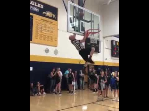 Kenny Young - Watch This B-Ball Ref Go All Ninja Warrior