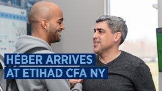 Héber Arrives at Etihad CFA NY