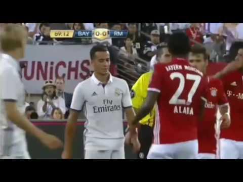 HIGHLIGHT INTERNATIONAL CUP-BAYER BAYER MUNCHEN vs REAL MADRID 0:1 GOAL (DANILO)