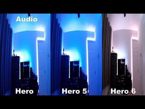 GoPro audio test