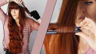 Jak kręcę włosy lokówką stożkową i prostownicą? Czyli nowości od Remingtona