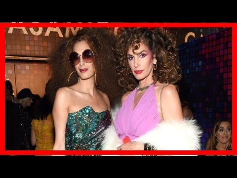 Breaking News | Amal clooney and cindy crawford embrace disco fever with their halloween costumes