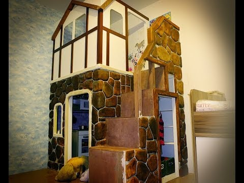 House In Da House. Детский домик в квартире.
