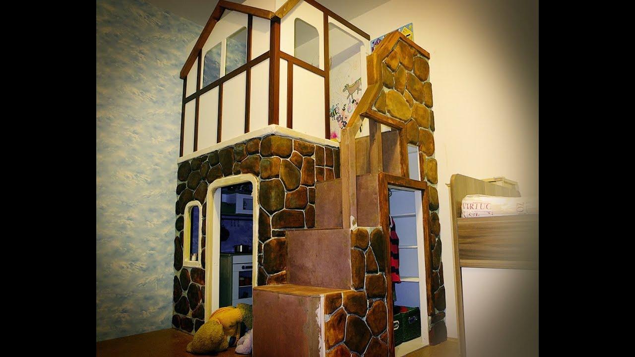 Детский домик для квартиры своими руками
