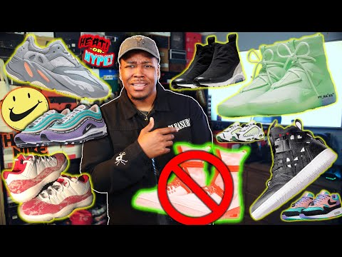 WTF IS THIS TRASH!? FEAR OF GOD NIKE, INERTIA YEEZY, SNAKESKIN 11, HAVE A NIKE DAY PACK, & MORE!