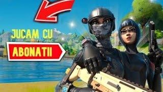 Live Fortnite Romania jucam cu abonatii!