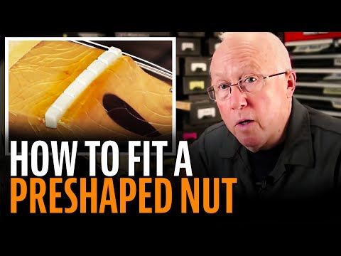 how-to-fit-a-preshaped-guitar-nut