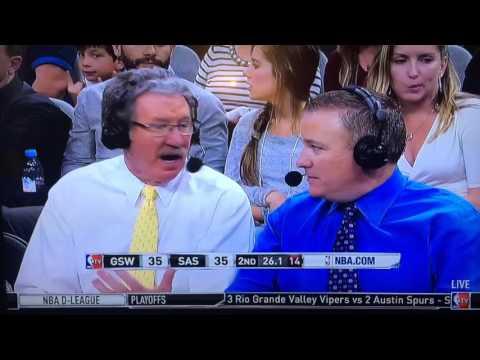 NBAtv Commentator Calls Fans