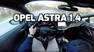 2017 Opel/Vauxhall Astra ST 1.4 Turbo POV test drive and review