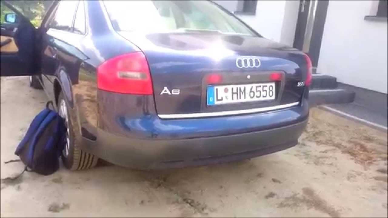 Audi A6 C5 28 V6 Exhaust Sound Youtube
