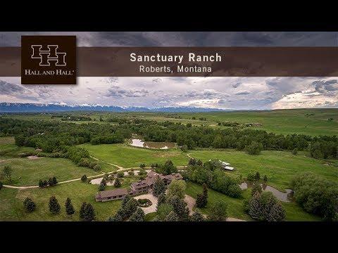Sanctuary Ranch - Roberts, Montana - Full Ranch Video