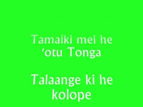 Kei Tonga Pe with Lyrics