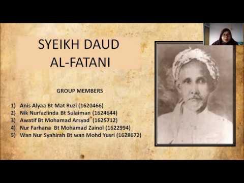 Syeikh Daud Al Fatani Youtube