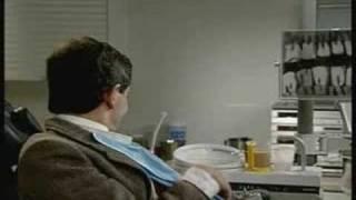mr.bean en el dentista