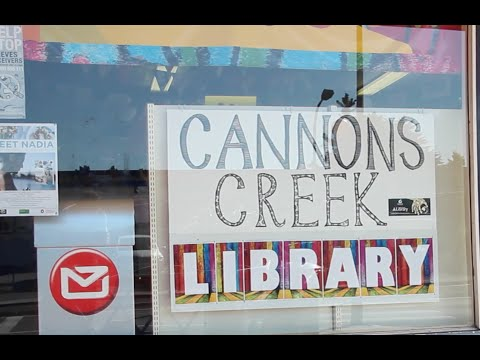NZ Post Box at Cannons Creek Library