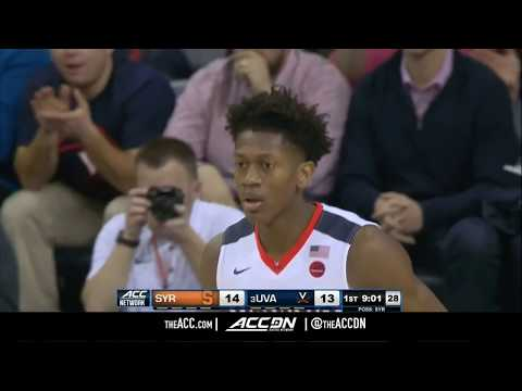 Syracuse vs Virginia College Basketball Condensed Game 2017